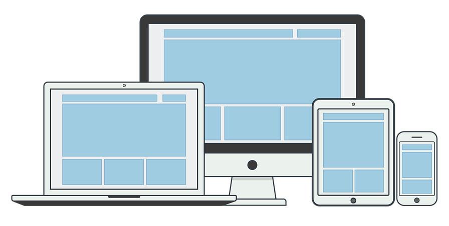 web development-responsive layout